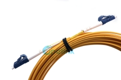 LC-LC 2.0mm Duplex Fiber Cable SM 9/125 Fiber Optic Patch Cable